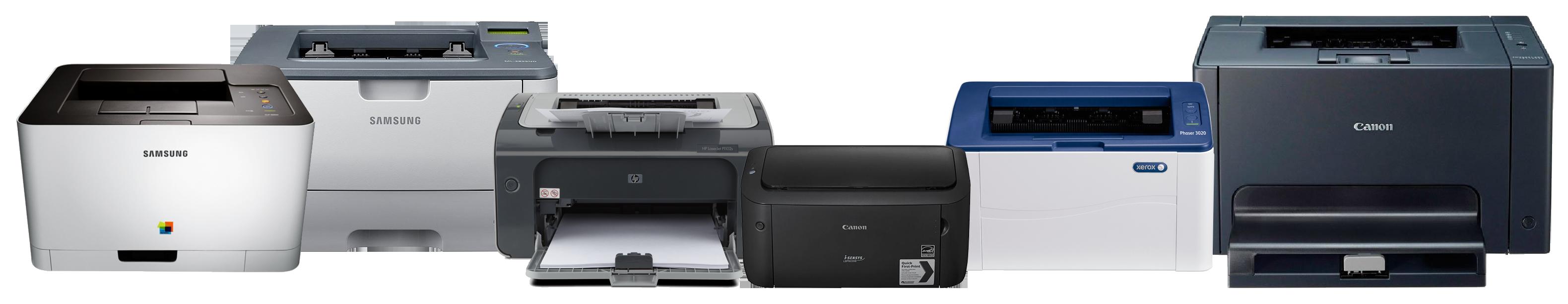 Обслуживание принтеров и копировальной техники