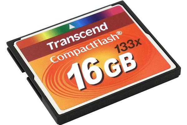 Восстановить данные с карты памяти Compact Flash Transcend 16 GB