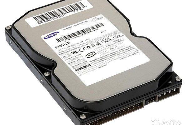 Восстановить данные с жесткого диска Samsung SP0822N