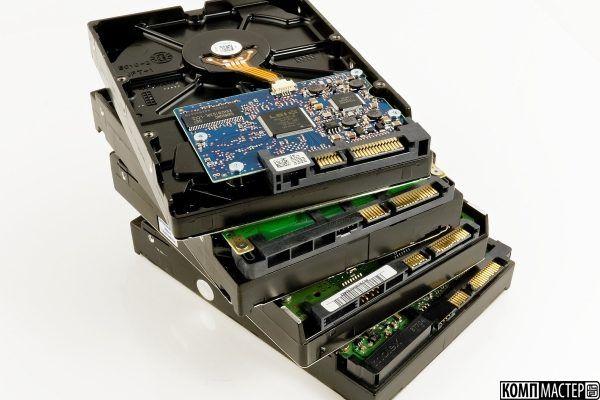 Очередной казус: восстановить данных с диска, в котором нет диска