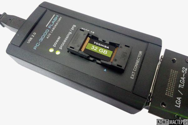 Восстановление данных с флеш карты CompactFlash (Видео)