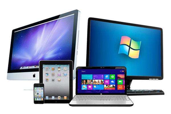 Ноутбуки, ПК и телефоны