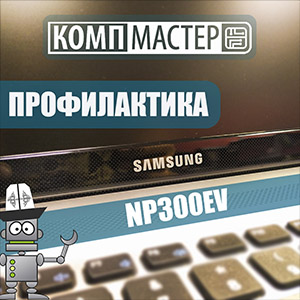 Samsung NP300EV — Профилактика