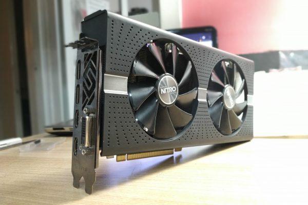 Проблема с видеокартой RX 570 Nitro