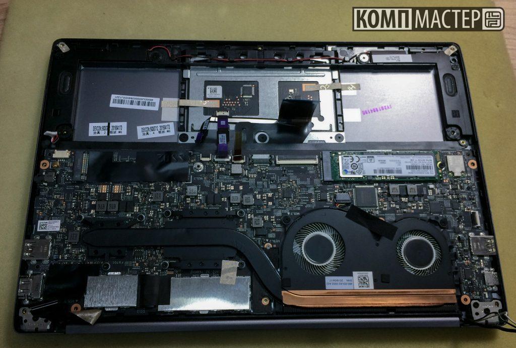 XiaoMi Mi Notebook Air 13 - Меняем клавиатуру